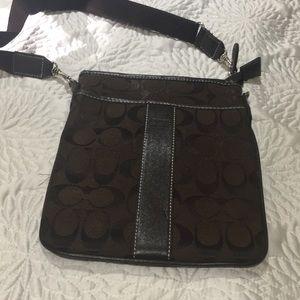 Coach (chocolate brown) crossbody bag